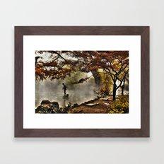 Steamy days Framed Art Print