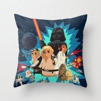 Star Wars FanArt: Rats W… Throw Pillow