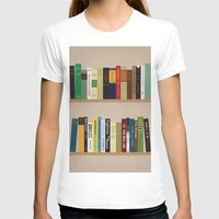 books T-shirts featuring BOOKS!!! by Matthew Justin Rupp