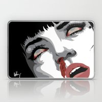 There goes mrs. Mia Wallace Laptop & iPad Skin