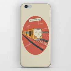 U-BAHN  iPhone & iPod Skin