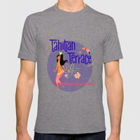Tahitian Terrace Mens Fitted Tee Tri-Grey SMALL