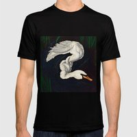 Gwen was a Swan Mens Fitted Tee Black SMALL