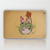 A kockas fulu nyultoro Laptop & iPad Skin