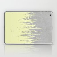 Concrete Fringe Yellow Laptop & iPad Skin