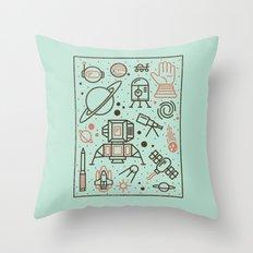 Cosmic Frontier  Throw Pillow