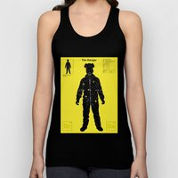 The Danger ( Yellow version ) Unisex Tank Top