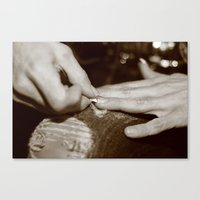 Nails Canvas Print