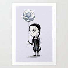 Wednesday Balloon Art Print