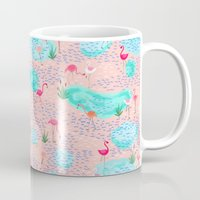 Flamingo Lake-pink Mug