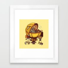 GHOST EATER 1 Framed Art Print