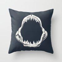 Doom Regatta Throw Pillow