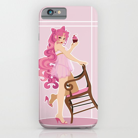 Sailor Moon Pinup - Chibiusa Cupcake iPhone & iPod Case