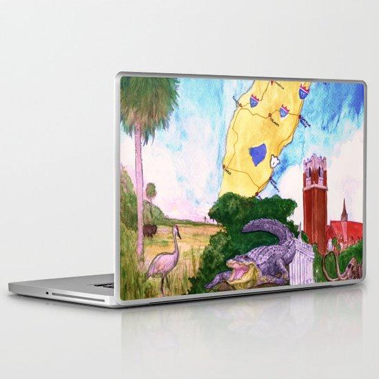 """Gainesville, FL"" by Cap Blackard Laptop & iPad Skin"