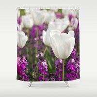 The delicate life Shower Curtain