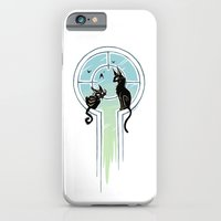 iPhone & iPod Case featuring Window Cats by Freeminds