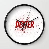 Dexter#01 Wall Clock