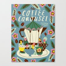 The Coffee Carousel Canvas Print