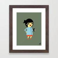 Anna (Alt) Framed Art Print