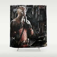 Merc-ing aint easy Shower Curtain
