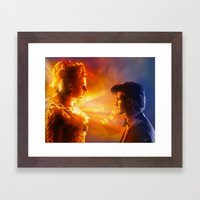 The Doctor's Wife Framed Art Print
