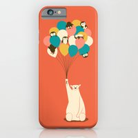 penguin iPhone & iPod Cases featuring Penguin Bouquet by Jay Fleck