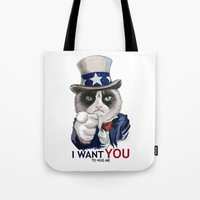 I WANT YOU Tote Bag