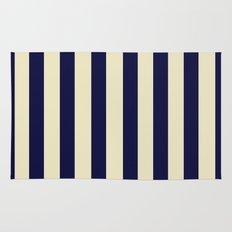 Navy Stripes Rug