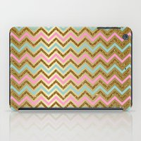 Glitter Chevron iPad Case