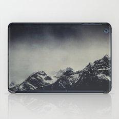 Misty Dark Mountains iPad Case