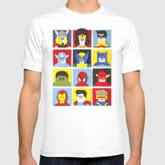 Felt Heroes SMALL Mens Fitted Tee White