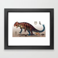 Pokemon-Groudon Framed Art Print