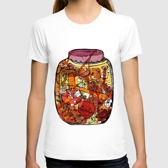 Preserved vegetables T-shirt