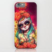 Día De Los Muertos iPhone 6 Slim Case