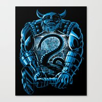Son of Odin Canvas Print