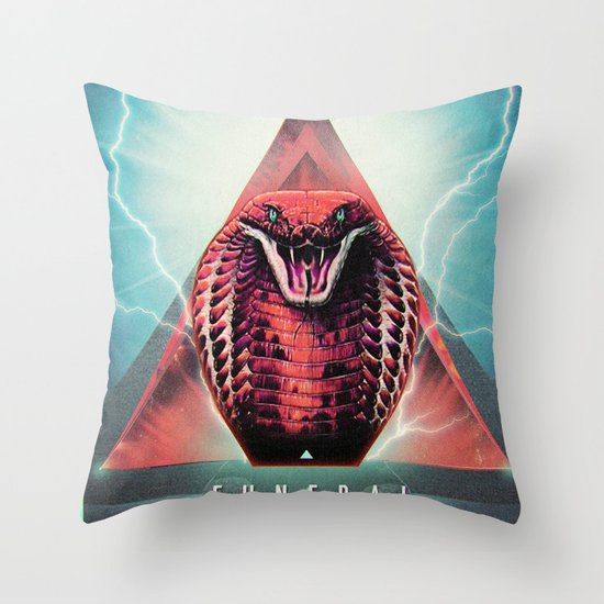 MYSTIC//KOBRA Throw Pillow