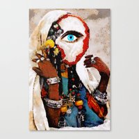 The Divinator Canvas Print