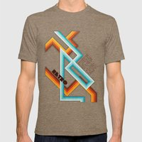 Retro Meaning Mens Fitted Tee Tri-Coffee SMALL