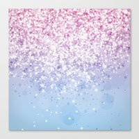 Glitteresques IV:XI Canvas Print