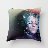 Free Fall Throw Pillow