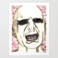 Lord Voldemort Art Print