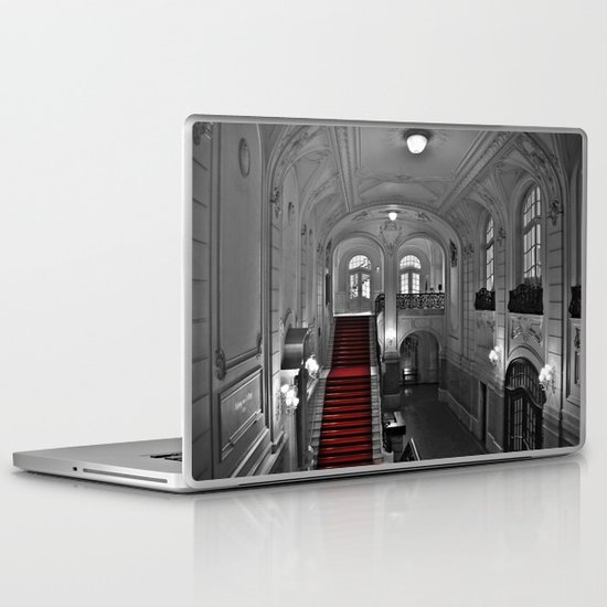 Treppenhaus Laptop & iPad Skin