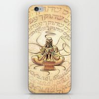 Kabbalah Meditation iPhone & iPod Skin