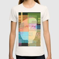 Cyborg 2 Womens Fitted Tee Natural SMALL