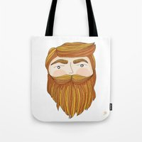 Gorgeous Ginger Beard Tote Bag