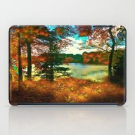 Trees And Shadows In New… iPad Case