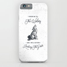 WOLF #BLUE Slim Case iPhone 6s