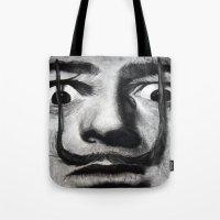 I Am Drugs ( Salvador Da… Tote Bag
