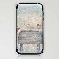 Winter Wonderland Birds  iPhone & iPod Skin