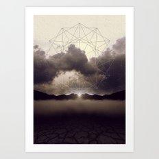 Beyond the Fog Lies Clarity Art Print